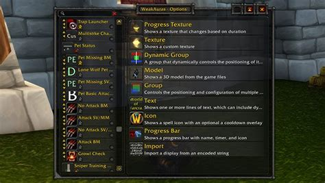 The best WeakAuras for WoW Classic