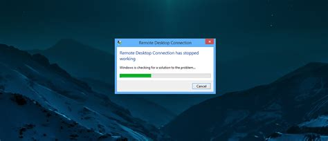 """How I fixed the """"Remote Desktop connection has stopped"""