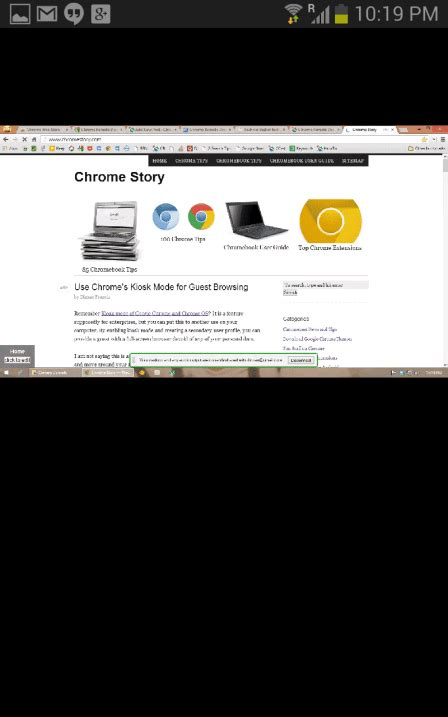 First Look - Official Chromoting (Chrome Remote Desktop