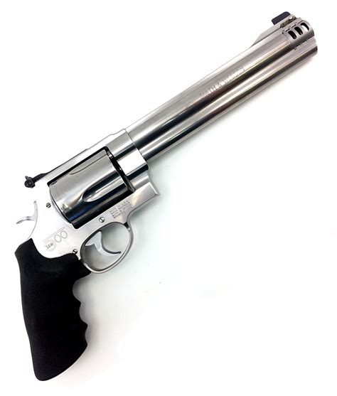 Smith & Wesson 500 Magnum Revolver Stainless – Doctor Deals