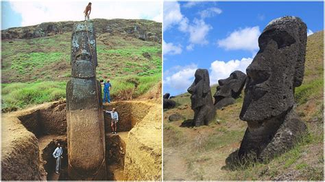 The Giant Heads of Easter Island Have Bodies And Their
