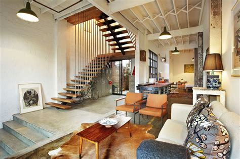 TrendHome: Warehouse Turned Into 2 Lofts In Melbourne