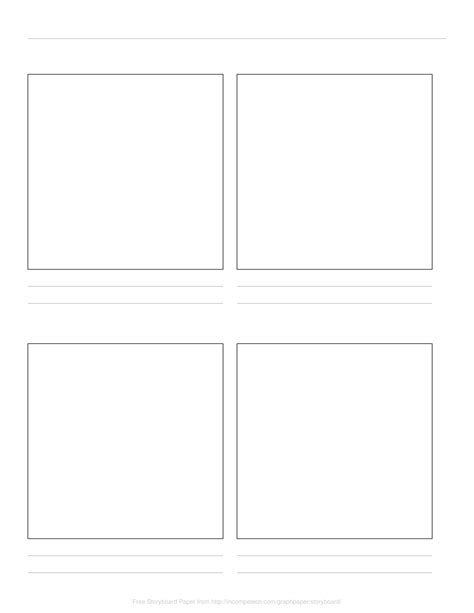 Free Online Graph Paper / Storyboard Paper