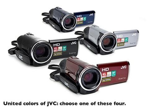 JVC Everio HD Camcorder with 40x Optical Zoom - Woot