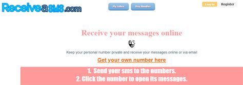 Bst 23 Free Websites To Receive SMS Online 2020 - TechOught