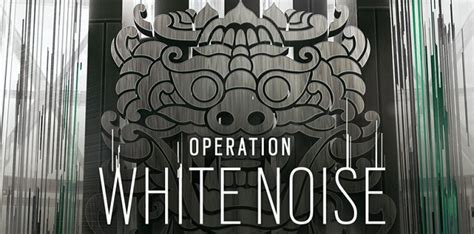 Rainbow Six Siege sounds out White Noise - News From The