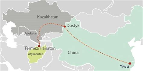 New China - Afghanistan train service successful : ITJ