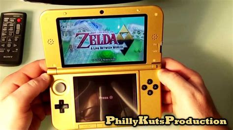 Zelda 3DS XL ALBW Setup and Overview - YouTube