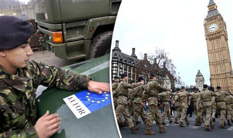 EU army could threaten NATO and threaten UK military after