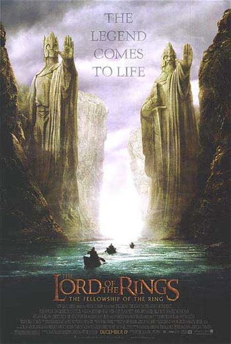 Lord Of The Rings: The Fellowship Of The Ring movie