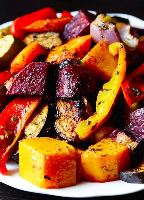 Scrumptious Roasted Vegetables - IFOODBLOGGER