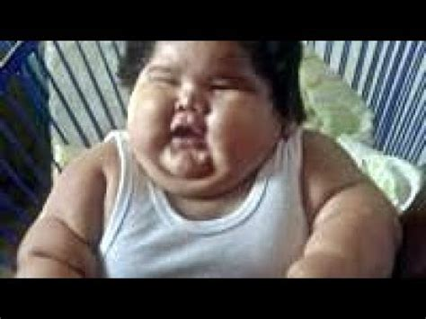 The World's Fattest Baby Luis Manuel, from Mexico, is 10