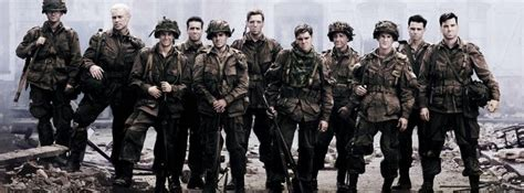 Band Of Brothers Cast Facebook Timeline Cover   Band of