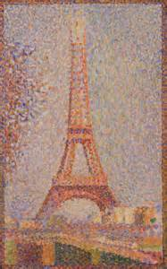 Eiffel Tower - Georges Seurat   FAMSF Search the Collections