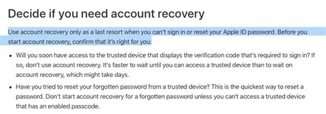 Account recovery - Apple Community