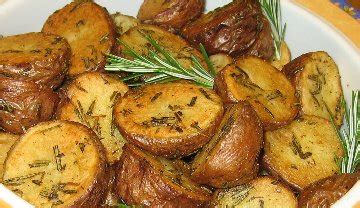 Oven Fried Potatoes Recipe, Whats Cooking America