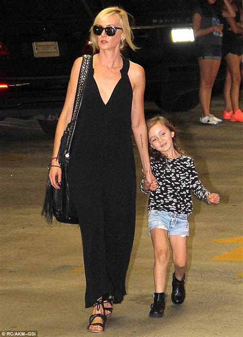 Kimberly Stewart steps out with her daughter Delilah