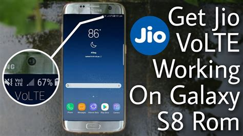 Galaxy S8 Rom with VoLTE Working for S7 & S7 Edge - YouTube