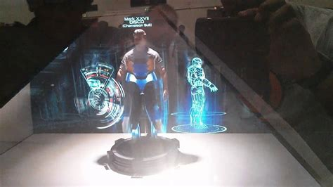 MEFCC 2014: Iron Man 3D Holographic display (JARVIS system
