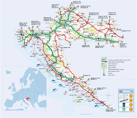 Info about getting to Trogir, by car, bus, boat, plane and