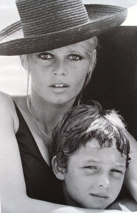 1969 or 1970 - Brigitte Bardot sailing with her son