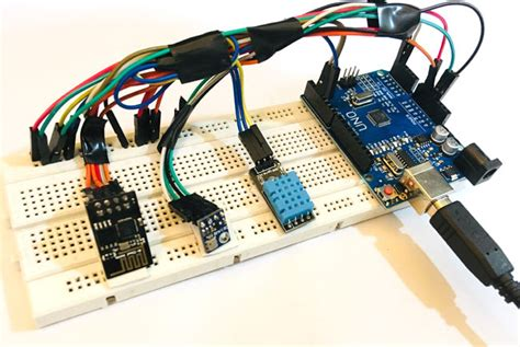IoT Wireless Weather Station Project using Arduino