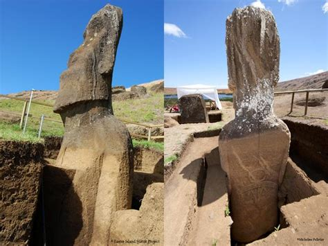 Archaeologists have known since 1919 that Easter Island's