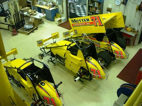 Race Shop Pictures   Motter Motorsports   World of Outlaws