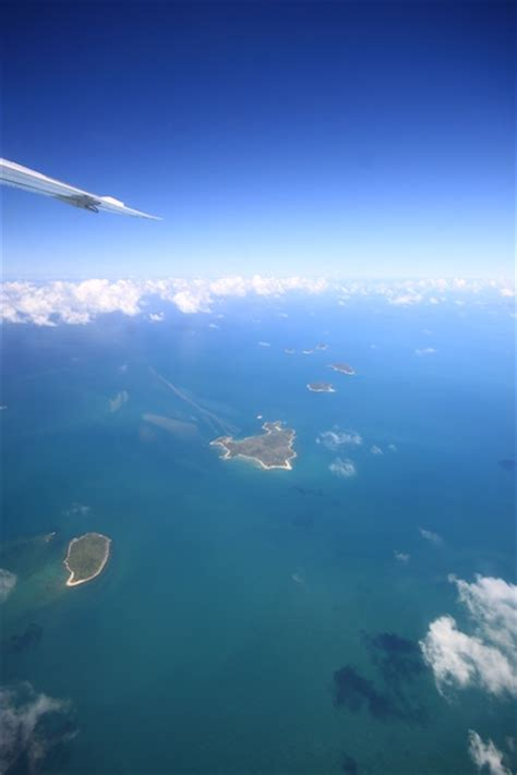 Skydiving over the Great Barrier Reef at Mission Beach | C