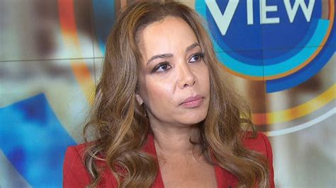 'The View' Panelist Sunny Hostin Says She Was the Target