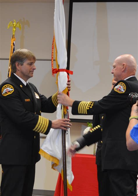 Graham Fire and Rescue welcomes new Chief Ryan Baskett