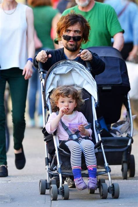Game of Thrones star Peter Dinklage takes his daughter